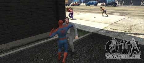 GTA 5 The Amazing Spider-Man 2 third screenshot