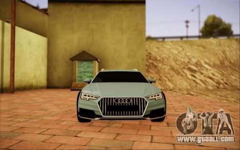 Audi A4 Allroad 2017 for GTA San Andreas right view