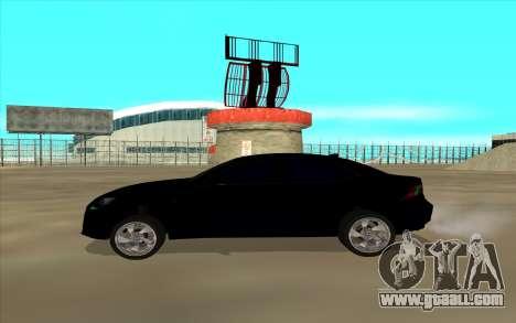 Lexus LS for GTA San Andreas left view