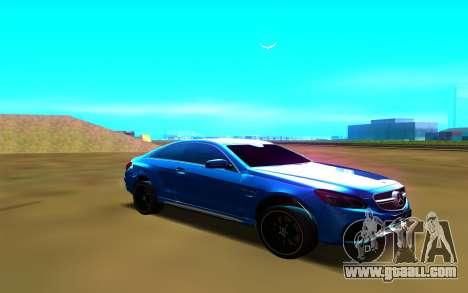 Mercedes-Benz E63 W212 Coupe for GTA San Andreas