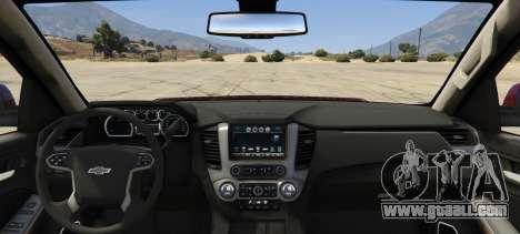 GTA 5 Chevrolet Suburban 2016 rear left side view