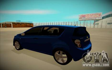 Chevrolet Aveo for GTA San Andreas left view
