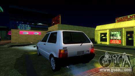 Fiat Uno Mille 1995 for GTA San Andreas