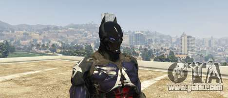 GTA 5 Arkham Knight third screenshot