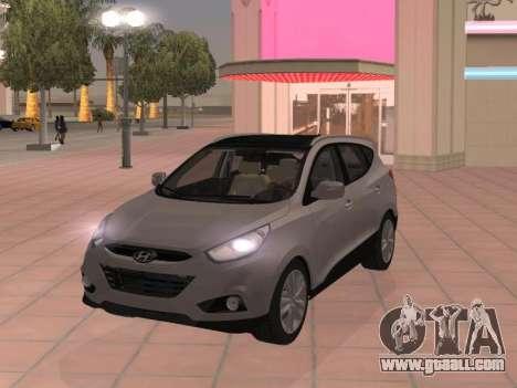 Hyundai ix35 2.0 CRDi 2010 for GTA San Andreas