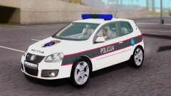 Volkswagen Golf V BIH Police Car for GTA San Andreas