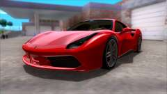 Ferrari 488 for GTA San Andreas