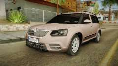Skoda Yeti 2016 for GTA San Andreas