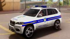 BMW X5 Croatian Police Car