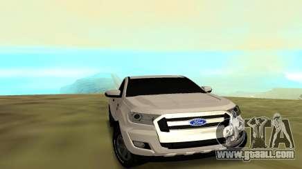 Ford Ranger 2017 for GTA San Andreas