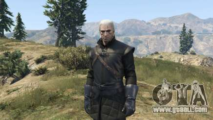 Geralt of Rivia New Moon Gear for GTA 5