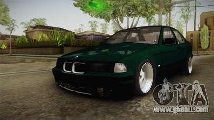BMW 320i E36 BORBET for GTA San Andreas
