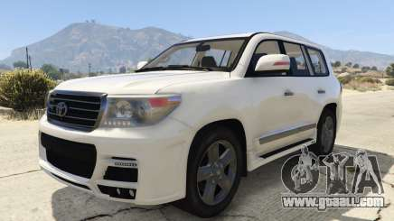 Toyota Land Cruiser 200 Zeus for GTA 5