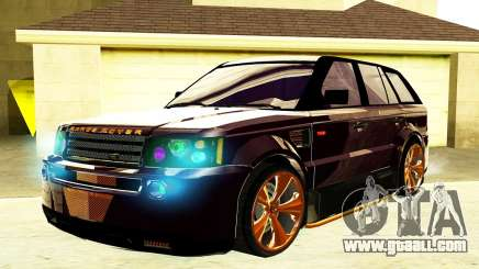 RANGE ROVER SPORTS 2008 for GTA San Andreas