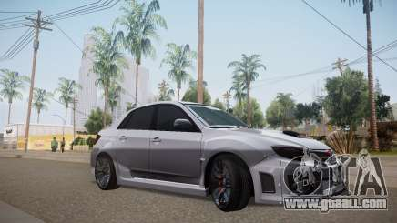 Subaru Impreza WRX STI 2009 TUNED for GTA San Andreas