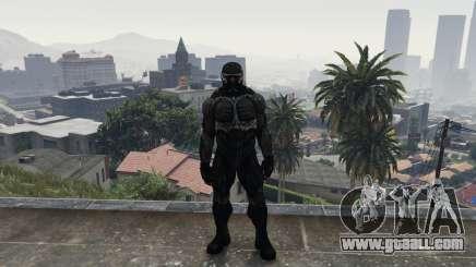 Crysis 2 NanoSuit Black for GTA 5