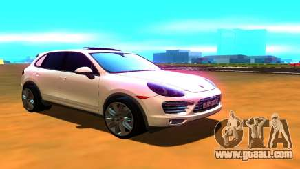 Porsche Cayenne Turbo S for GTA San Andreas