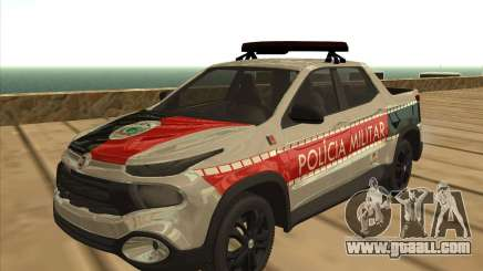 Fiat Toro Police Military for GTA San Andreas