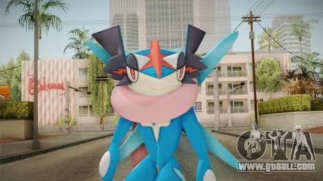 Pokémon - Greninja Ash for GTA San Andreas