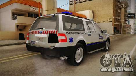 Ford Expedition 2013 FCEM for GTA San Andreas back left view