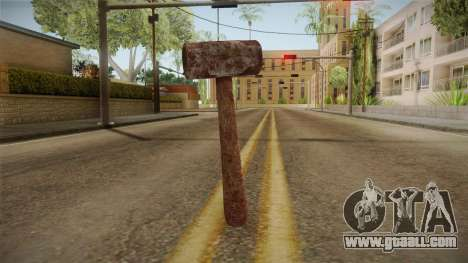 Leatherface Butcher Weapon 1 for GTA San Andreas second screenshot