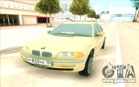 BMW 320 for GTA San Andreas right view