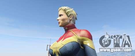 GTA 5 Captain Marvel (ANAD) third screenshot