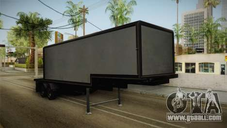 Volvo FH16 660 8x4 Convoy Heavy Weight Trailer 1 for GTA San Andreas right view
