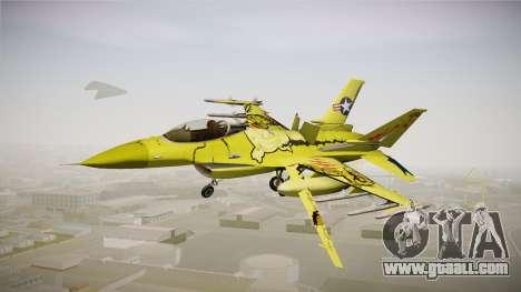 FNAF Air Force Hydra Springtrap for GTA San Andreas