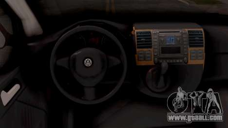 Volkswagen Transporter T5 Selidbe for GTA San Andreas inner view