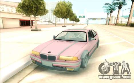 BMW E36 for GTA San Andreas back view