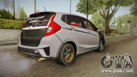 Honda Jazz GK FIT RS v1 for GTA San Andreas left view