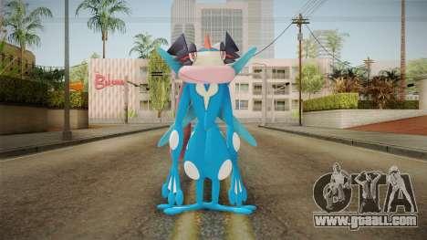 Pokémon - Greninja Ash for GTA San Andreas second screenshot