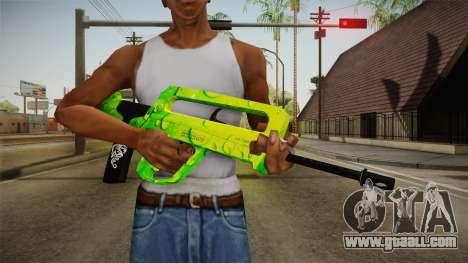 Green Weapon 2 for GTA San Andreas third screenshot