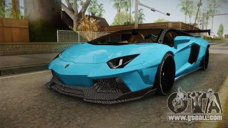 Lamborghini Aventador LP700-4 LB Walk v2 for GTA San Andreas