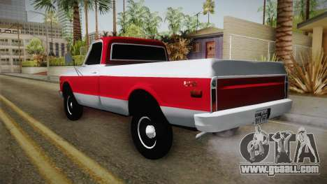 GMC Pickup 1970 for GTA San Andreas left view