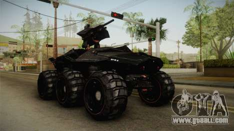 Goliath UGV for GTA San Andreas right view