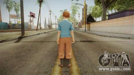 Tintin for GTA San Andreas third screenshot