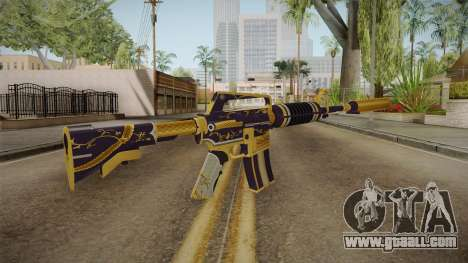 CS:GO - M4A1-S Gold Coil for GTA San Andreas third screenshot