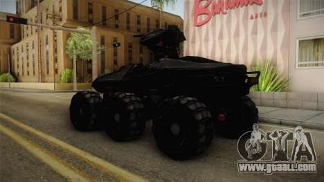 Goliath UGV for GTA San Andreas left view