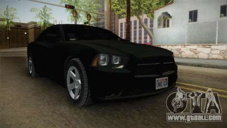 Dodge Charger 2013 Unmarked Iowa State Patrol for GTA San Andreas right view