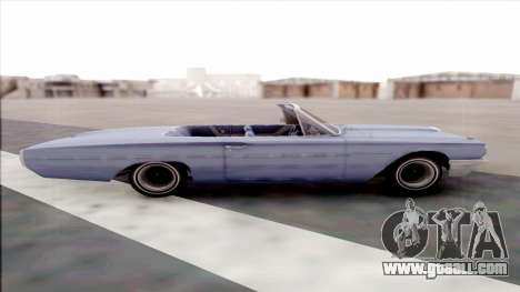 Ford Thunderbird for GTA San Andreas left view