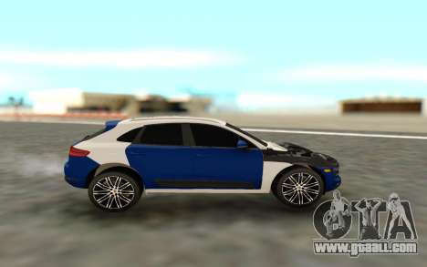 Porsche Macan S for GTA San Andreas left view
