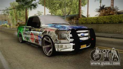 Ford F-350 Livery Philippines for GTA San Andreas