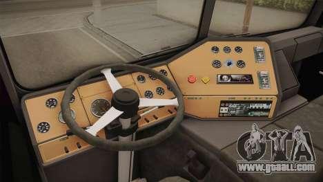 Freightliner FLA 9664 v1.0 for GTA San Andreas inner view