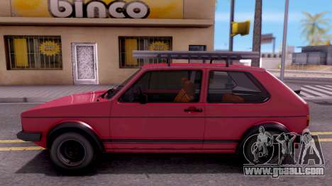 Volkswagen Golf Mk1 Yugoslav for GTA San Andreas left view