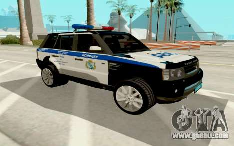Range Rover Sport Police for GTA San Andreas