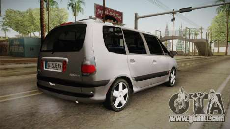 Renault Espace 1999 2.0 16v for GTA San Andreas left view
