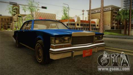 Driver: PL - Regina for GTA San Andreas right view