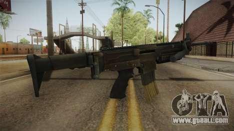 ULTIMAX 100 Assault Rifle for GTA San Andreas third screenshot